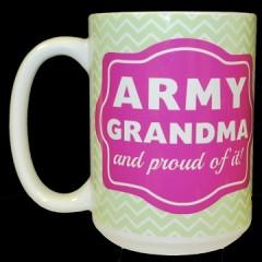 Army Grandma Cup
